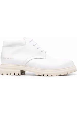 COMMON PROJECTS Leather lace-up ankle boots
