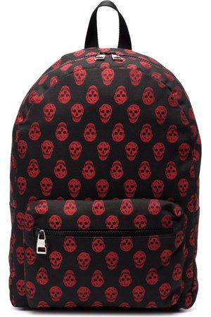 Alexander McQueen Metropolitan skull-print backpack
