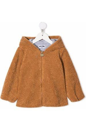 Moschino Donsjassen - Teddy Bear textured jacket