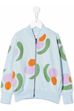 Bobo Choses Patterned zip-up bomber jacket