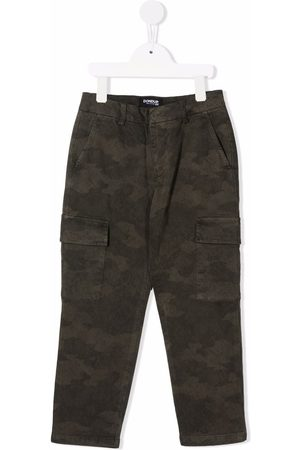 Dondup Camouflage-print cargo trousers