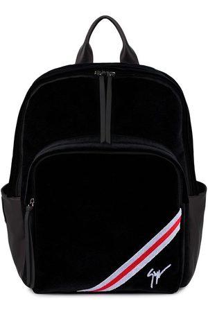 Giuseppe Zanotti Chalmer velvet backpack