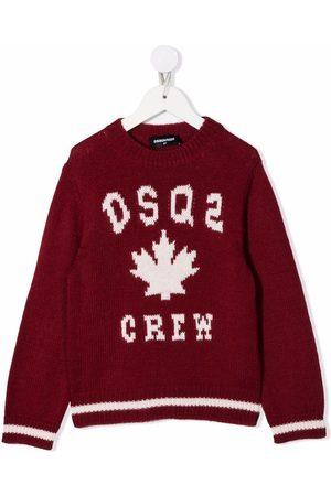 Dsquared2 DSQ2 intarsia knit jumper