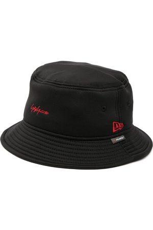 YOHJI YAMAMOTO Heren Buckethat - Logo-embroidered bucket hat