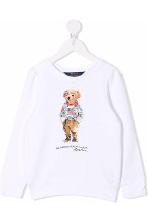 Ralph Lauren Logo long-sleeve sweatshirt