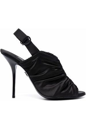 Dolce & Gabbana Ruched stiletto sandals