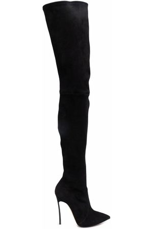 Casadei Blade over-the-knee 115mm boots