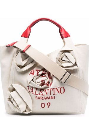 Valentino Garavani Atelier 09 Rose Blossom Edition tote bag