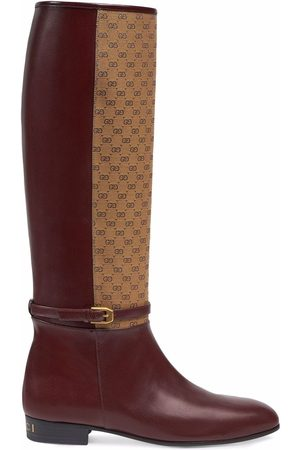 Gucci GG knee-high boots