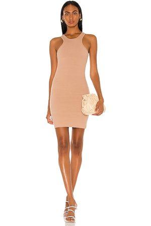 THE RANGE Carved Mini Dress in