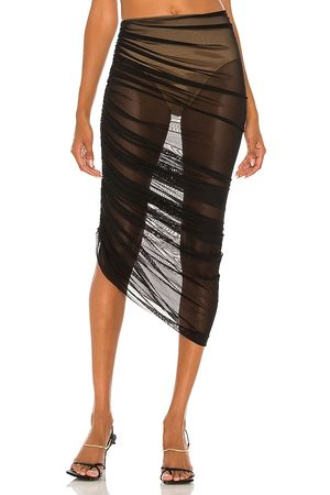 Norma Kamali Diana Long Skirt in