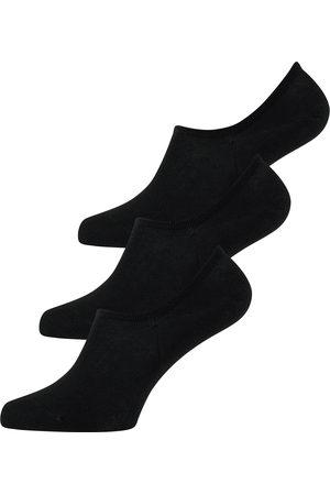 ELBEO Heren Sokken - Enkelsokken ' 3er-Pack Bamboo Füsslis