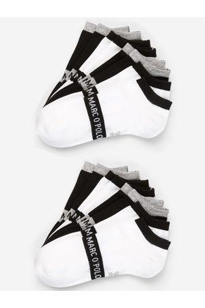 Marc O' Polo Enkelsokken ' 8er-Pack Low Cuts Black & White