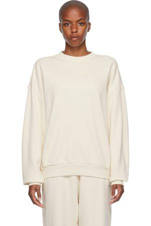 Reebok Dames Sweaters - Off-White Classics Non-Dye Sweatshirt