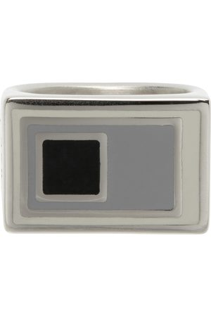 A-cold-wall* Silver Lateral Ring