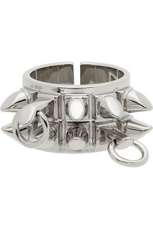 Givenchy Heren Ringen - Silver G Stud Ring