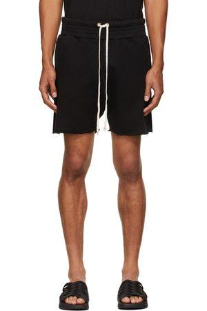 Les Tien Black Heavyweight Yacht Shorts