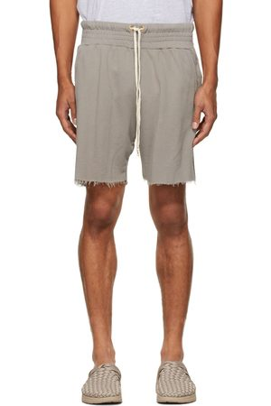 Les Tien Taupe Lightweight Yacht Shorts