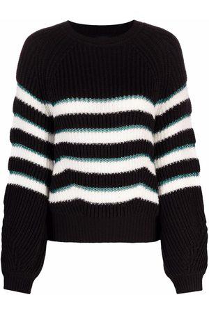 Pinko Striped wool jumper