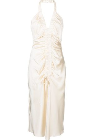 Nicholas Dames Feestjurken - Halterneck draped dress