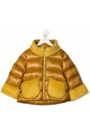 HERNO Padded zip-up down coat