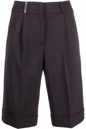 PESERICO SIGN Dames Bermuda's - Pressed-crease shorts