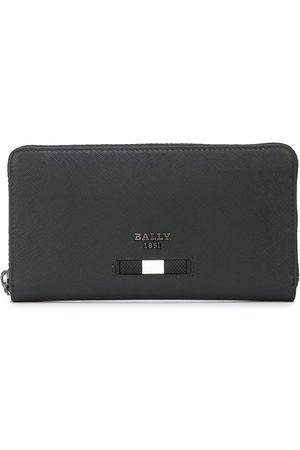Bally Balen leather travel wallet