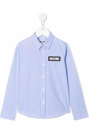 Moschino Teddy Bear motif cotton shirt