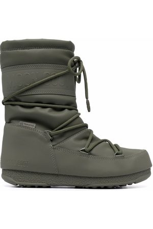 Moon Boot Waterproof mid-length lace-up boots