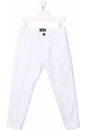 Dsquared2 Logo-print straight-leg trousers