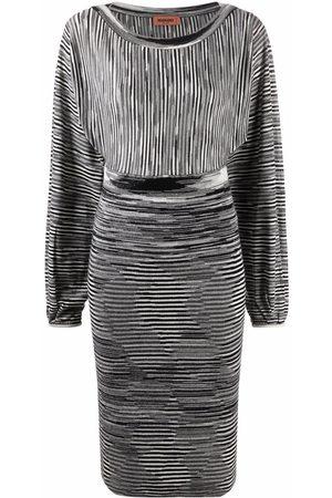 Missoni Stripe-knit midi dress