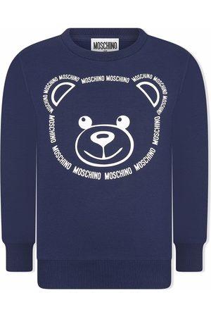 Moschino Jongens Sweaters - Teddy Bear logo-print sweatshirt