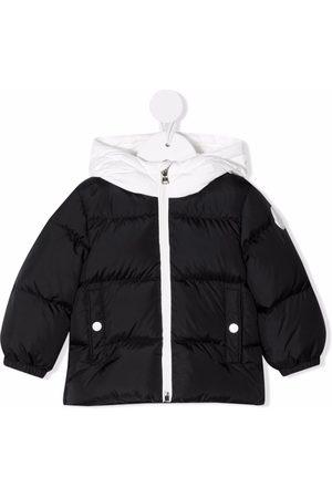 Moncler Donsjassen - Logo-patch puffer jacket