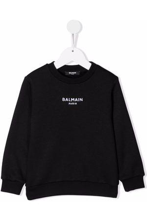 Balmain Jongens Sweaters - Logo-embroidered sweatshirt