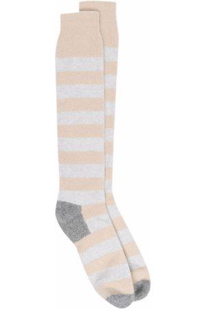 FEDELI Heren Sokken - Stripe-pattern socks