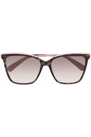 Longchamp Tortoiseshell-effect square sunglasses