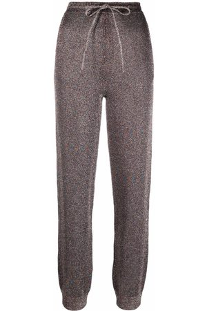 Missoni Drawstring knitted trousers