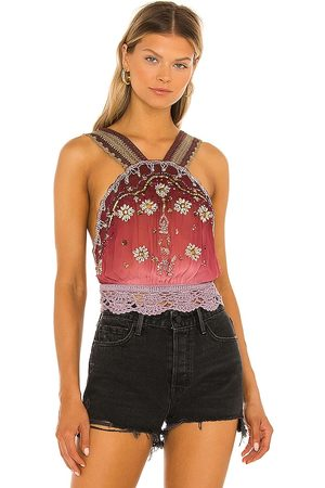 Free People Hi There Halter Top in