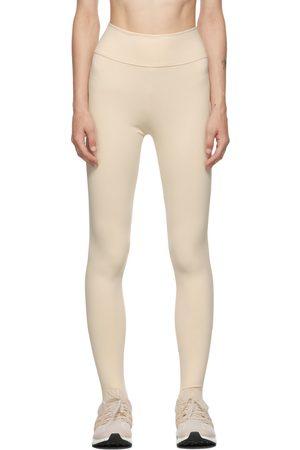 LIVE THE PROCESS Dames Leggings - Off-White Ballet Leggings