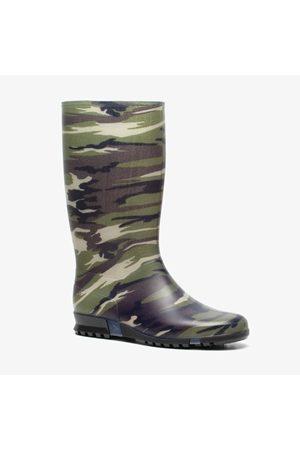 Dunlop Meisjes Regenlaarzen - Army regenlaarzen