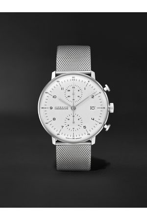 Junghans Heren Horloges - Max Bill Chronoscope Automatic 40mm Stainless Steel Watch, Ref. No. 027/4003.48