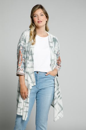 Ulla Popken Dames Kimono's - Grote Maten Kimono Sweatjack, Dames