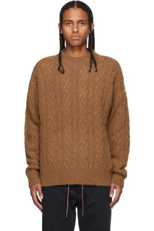 Moncler Heren Sweaters - Tan Mohair & Alpaca Sweater
