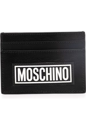 Moschino Heren Portefeuilles - Logo-print cardholder