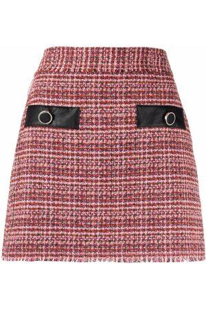 Pinko High-waisted tweed skirt