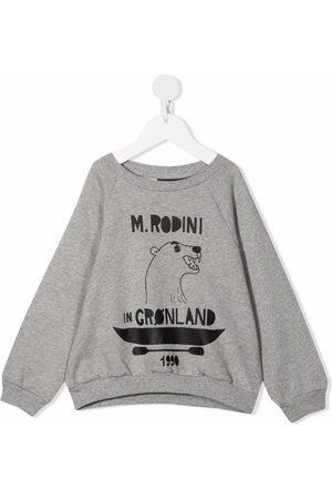 Mini Rodini Graphic-print cotton sweatshirt