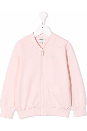 Kenzo Meisjes Bomberjacks - Logo zipped bomber jacket