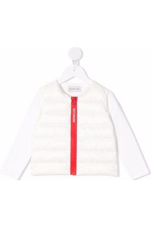 Moncler Donsjassen - Zip-up padded down jacket