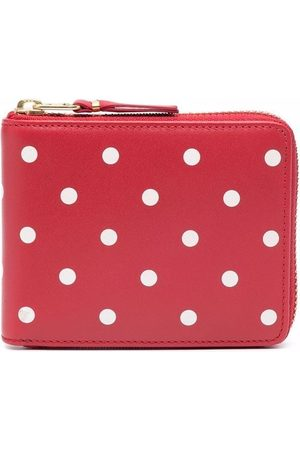 Comme des Garçons Portefeuilles - Polka-dot compact wallet