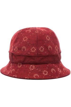 Marine Serre Moon pattern denim bucket hat